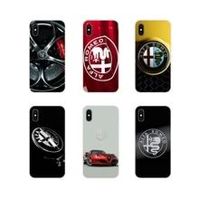 Accesorios fundas de teléfono para samsung galaxy s3, S4 y S5 Mini S7 S6 Edge S8 S9 S10 Lite Plus Note 4 5 8 9 Alfa Romeo italiano