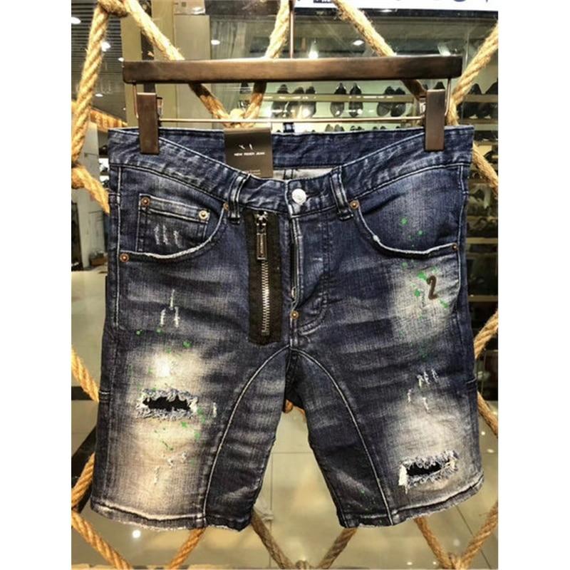 लक्जरी 2018 फैशन फिसल गया होल - पुरुषों के कपड़े