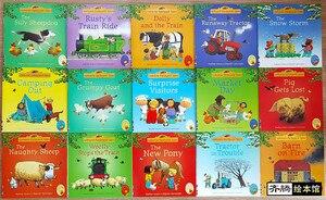 Image 3 - 15 pz/set 15x15 cm Migliore Libri Illustrati Per Bambini E Neonati famosa Storia Inglese Tales Serie Di Bambino libro Aia Tales Storia
