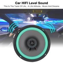Alto-falante automotivo coaxial hifi, 6.5 Polegada 12v 160w, durável, porta automotiva, áudio estéreo, 1 peça alto-falantes de frequência de alcance