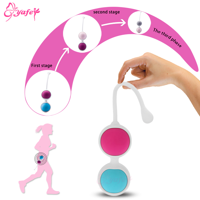 Best buy ) }}Silicone Kegel Balls Weighted Smart Love Vaginal Ball Tight Exercise Machine Vibrators Ben