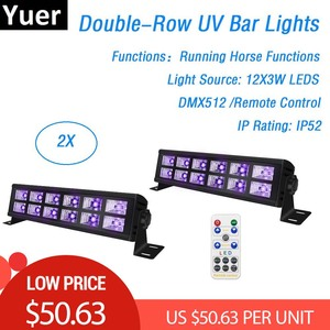 Dj Decorations UV LED Bar 12X3