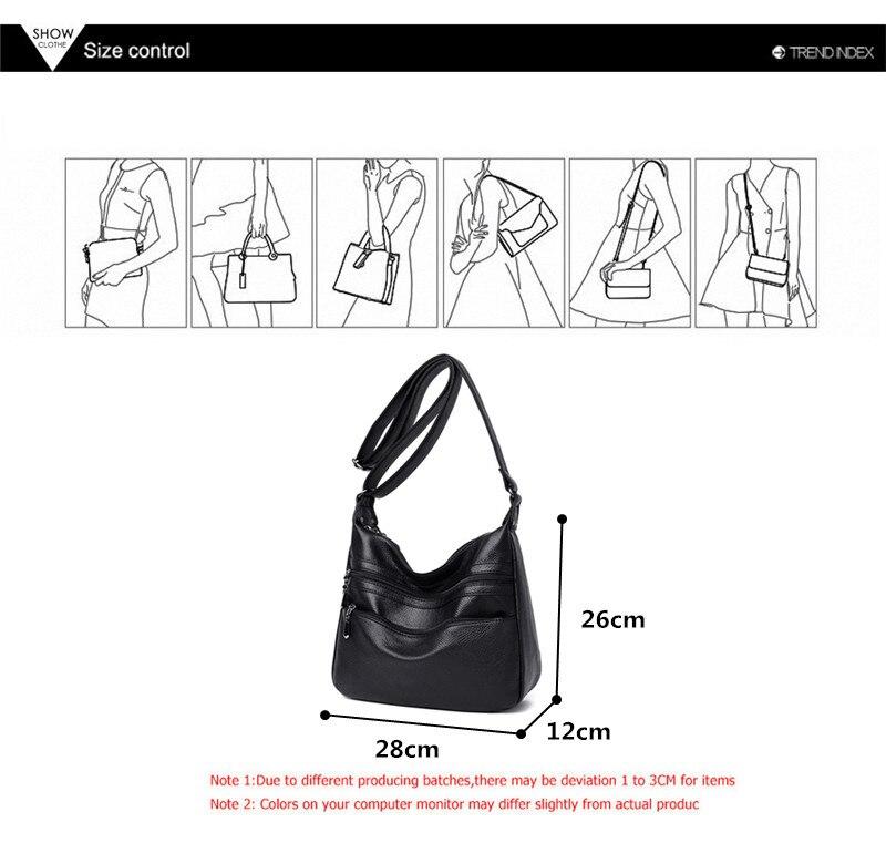 Multi bolso feminino bolsa de ombro designer