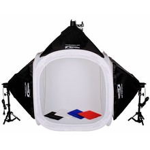 Photo Studio 80cm softbox tent Continuous Light  Kit Camera Tent Studio Light Box Photography Equipment Adearstudio CD50.