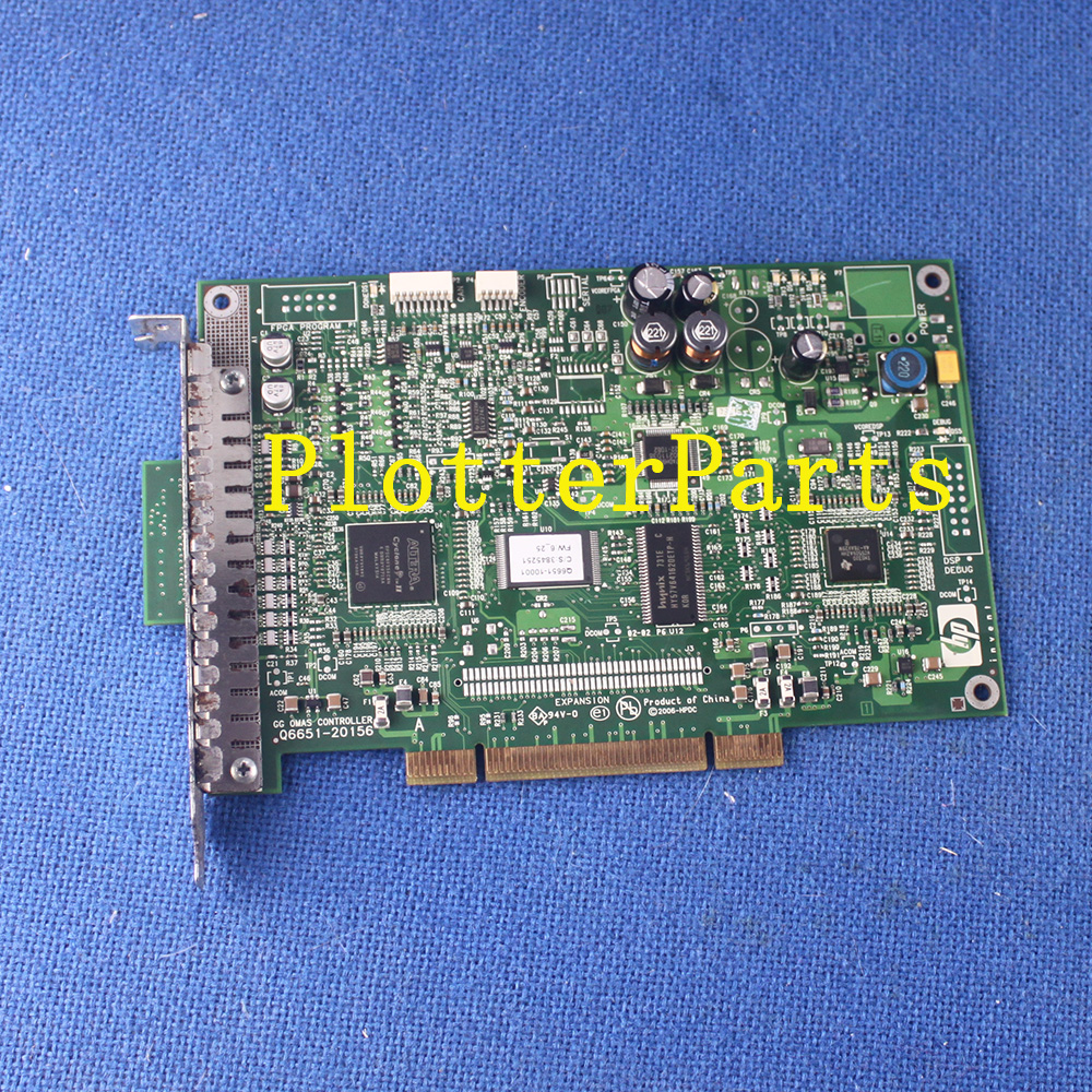 Q6651-60063 Q6651-60268 OMAS controller card for HP DesignJet Z6100 Z6100PS plotter parts Used omas