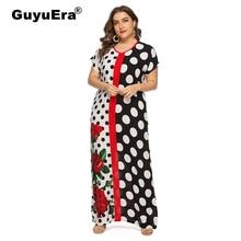 0acb2992a GuyuEra الأفريقي اللباس للنساء الأوروبية كبير حجم الأزياء طباعة اللباس  الشرق الأوسط العربي رداء