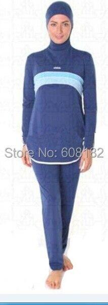 Pakaian Renang Muslim Swimsuit Dewasa Arab Pantai Baju Renang Untuk wanita  Muslim Pakaian Islamic jilbab Arab swimsuit di Pakaian Islamic dari Novelty  ... dfaa09196e