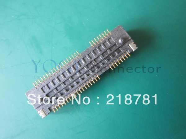 1x baru asli 52PIN 4.0 H Mini PCI-E Slot PCIE konektor Socket untuk Laptop kartu jaringan nirkabel