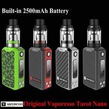 2017 Nueva Original Vaporesso Tarot Kit Nano 2 ml Tanque y 80 W Caja Mod Vape Veco 2500 mah de La Batería vaporizador Cigarrillo Electrónico
