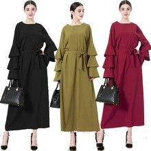 Abayas pour femmes 2019 turquie Qatar Bangladesh musulman Hijab Robe Jilbab  Robe caftan Abaya dubaï Elbise turc islamique vêteme.
