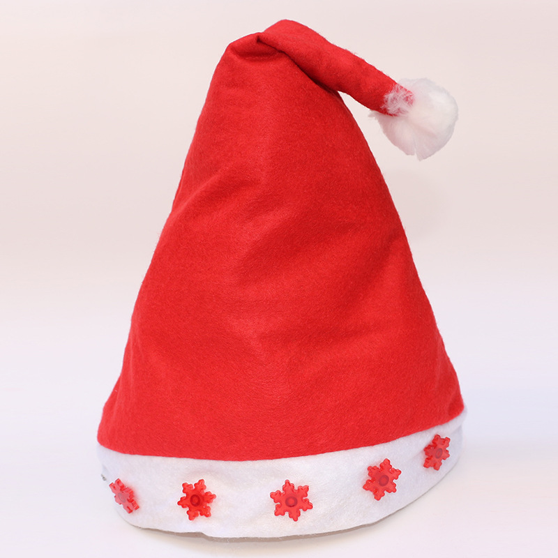 f881fb35d6b30 Christmas Hats Soft Plush Santa Claus Caps Holidays Fancy Dress Hats For  Women Men New Year Cap Merry Xmas Decoration
