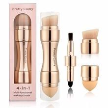 4 in 1 Foundation Makeup Brushes Makeup