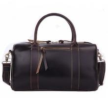 JMD 2016 New Arrival 100% Leather Briefcases Men's  Cow Leather Messenger Shoulder Bag Handbags Travel Bags 7165