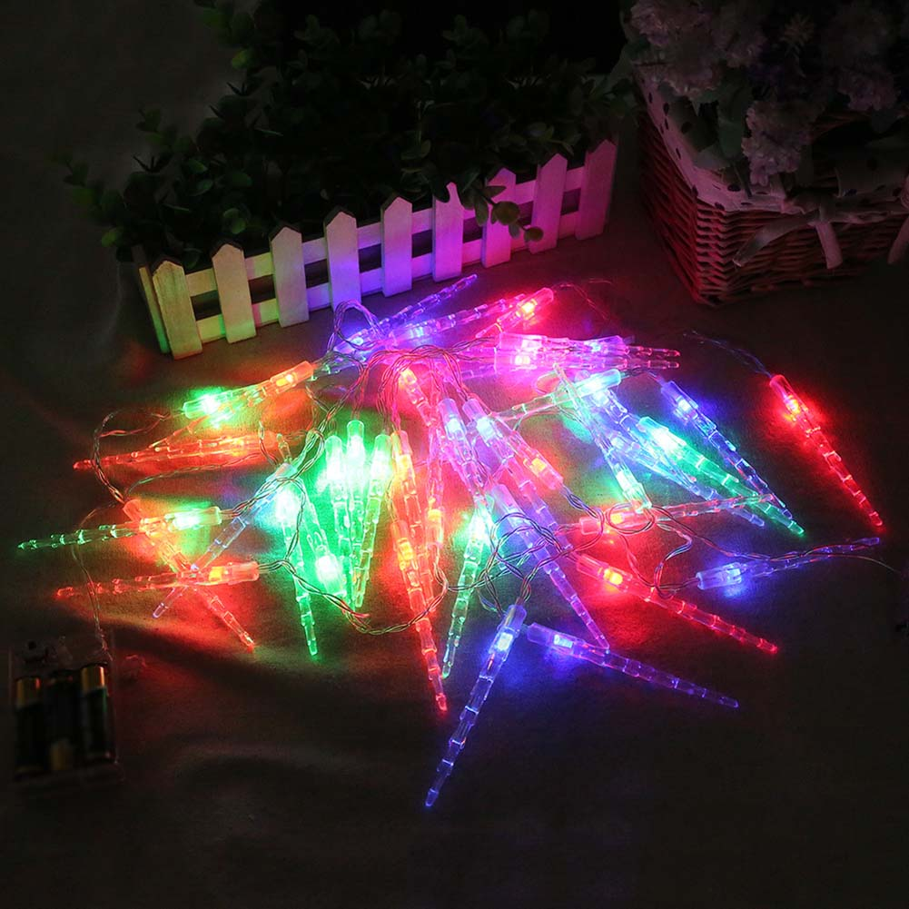 1PC 20 Leds String Lights Acrylic Ice Bar Lamp For Garden Christmas Party Indoor Outdoor Decoration Lights ALI88