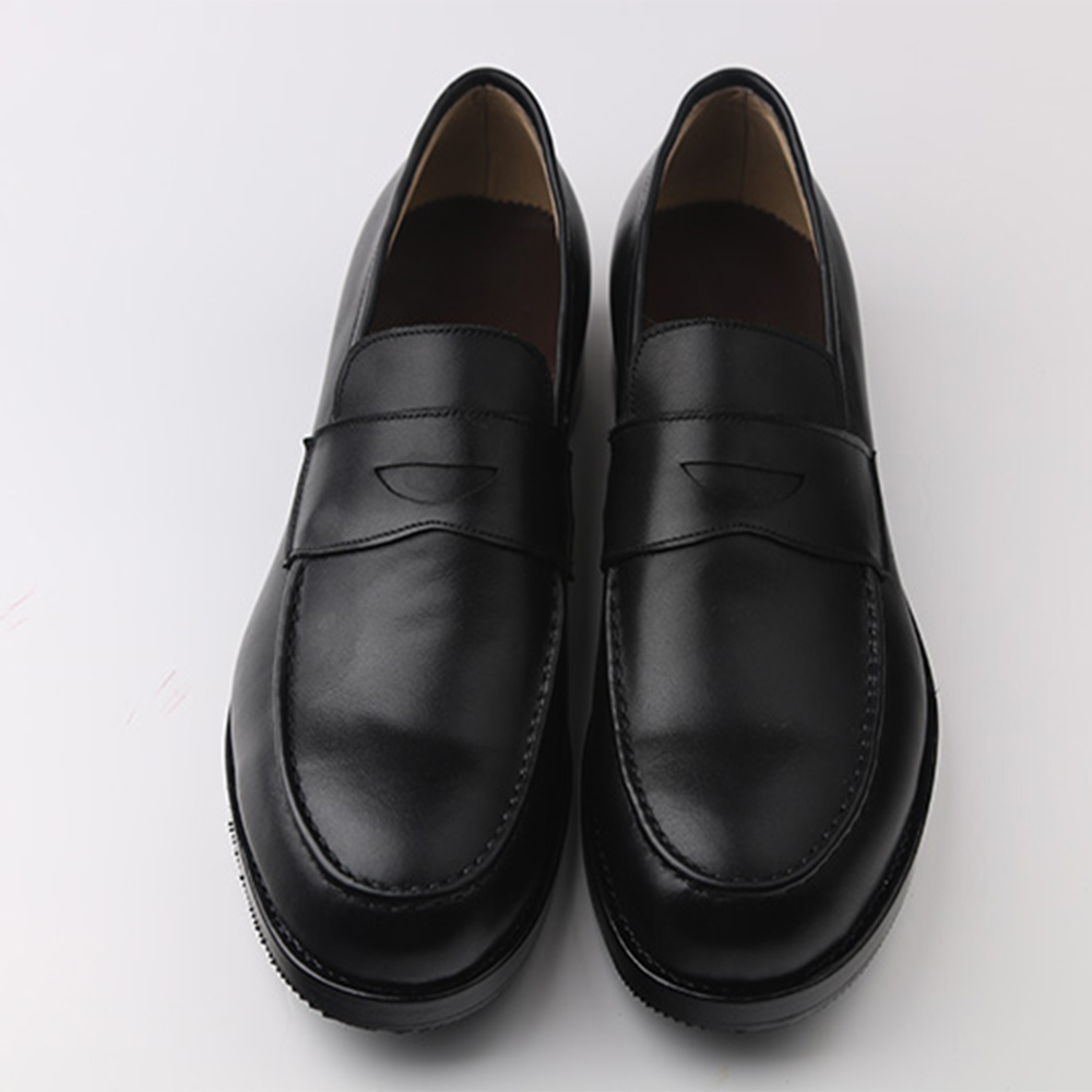 Sipriks Mens Penny Loafers นำเข้าอิตาเลี่ยนหนังสีดำผู้ชาย Topsiders Loafers Custom Goodyear Welted รองเท้ายุโรป 2018-ใน รองเท้าทางการ จาก รองเท้า บน   2