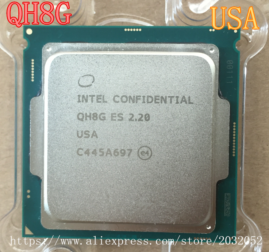 I7 6400T 2.2GHz QH8G Engineering version does not show models ES LGA 11511 CPU free shipping