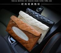 Raoping Car Storage Bag Sun Visor Receive Bag Car Stowing Tidying Multi Function Interior Auto Sunshade Cover Hanging Bag