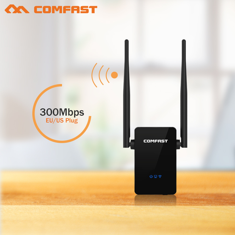COMFAST Gsm 300Mbps WIFI Repetidor With 2x5dBi WIFI Antenna Wireless-N Wifi Repeater 802.11 B/g/n Wifi Access Point AP Router