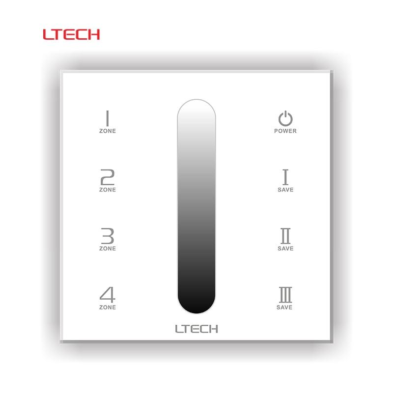 ∞Ltech DX5 Led DMX Dimmer Controller 100-240v 220V 86 Glass Panel ...