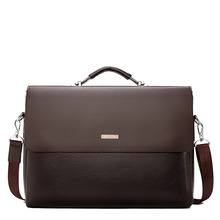 2020 New Business Men Briefcase Leather Laptop Handbag Tote Casual Man