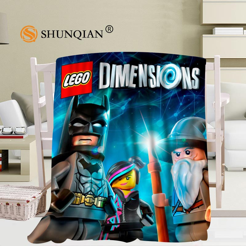 Marvelous Us 26 23 36 Off Custom The Lego Batman Blanket Flannel Fabric 56X80Inch 50X60Inch 40X50Inch Sofa Bed Throw Blanket Kid Adult Warm Blanket In Squirreltailoven Fun Painted Chair Ideas Images Squirreltailovenorg