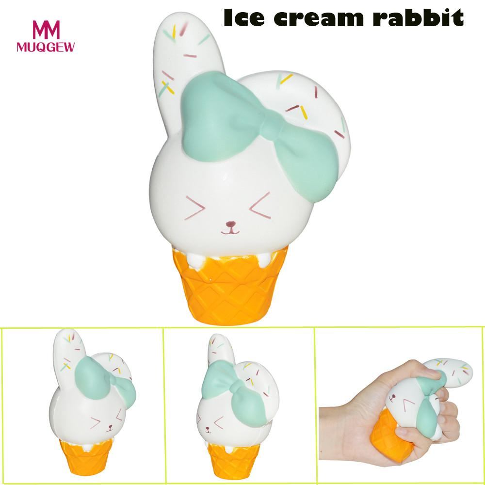 Relax Toys Starry Cute Rabbit Scented Slow Rising Collection Skuishy Animales Squeeze Stress Reliever Toy Interesting D301228 Squeeze Toys Toys & Hobbies