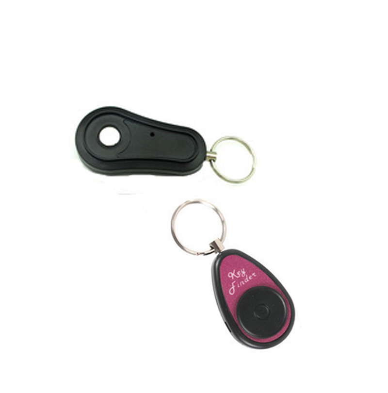 F610 key finder 1 emitter 1 receiver Keychain Locator remote key finder electronic remote anti lost alarm key finding alarm new arrival fashion design 2 in 1 alarm remote wireless key finder seeker locator find lost key 2 receiver anti lost alarm