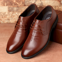 Extra large 45 genuine leather fashion male leather 46 plus size formal business casual shoes 47 48 lacing shoes free shipping