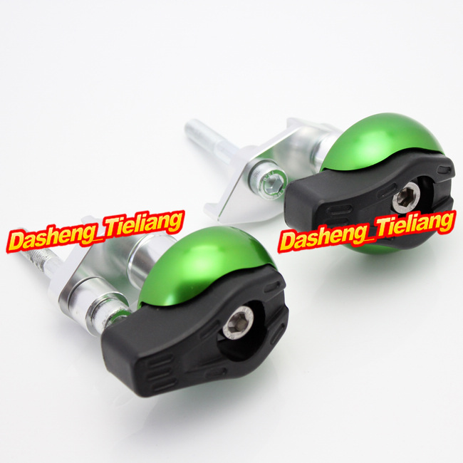 CNC Motorcycle Stator Cover Slider Frame Crash Protector For Suzuki B-King Bking GSX1300R 2008-2013, Green Color