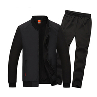 5XL 6XL 7XL 8XL Men Big Size Sports Suit Mens Fitness Sportswear Plus Size Man Gym Clothing Keep Warm Running Jogging Sets