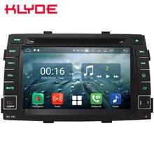7 «Восьмиядерный 4G wifi Android 8,1 4G B оперативная память 6 4G B rom RDS BT USB автомобильный DVD мультимедийный плеер Радио стерео для Kia Sorento 2009-2012