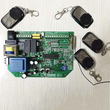 Wysoka jakość i nowy AC przesuwne bramy sterowania otwieraczem nauka kod + 4 sztuk piloty zdalnego sterowania tanie i dobre opinie Automatyczne bram OuXinDiLong KF270-4 learning code Electrical