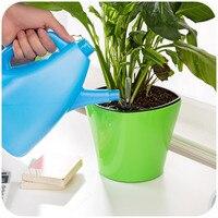 Nova regador auto Irrigação por gotejamento Automático de rega pode para vasos de flores com indicador de nível de água home decor jardim ferramenta