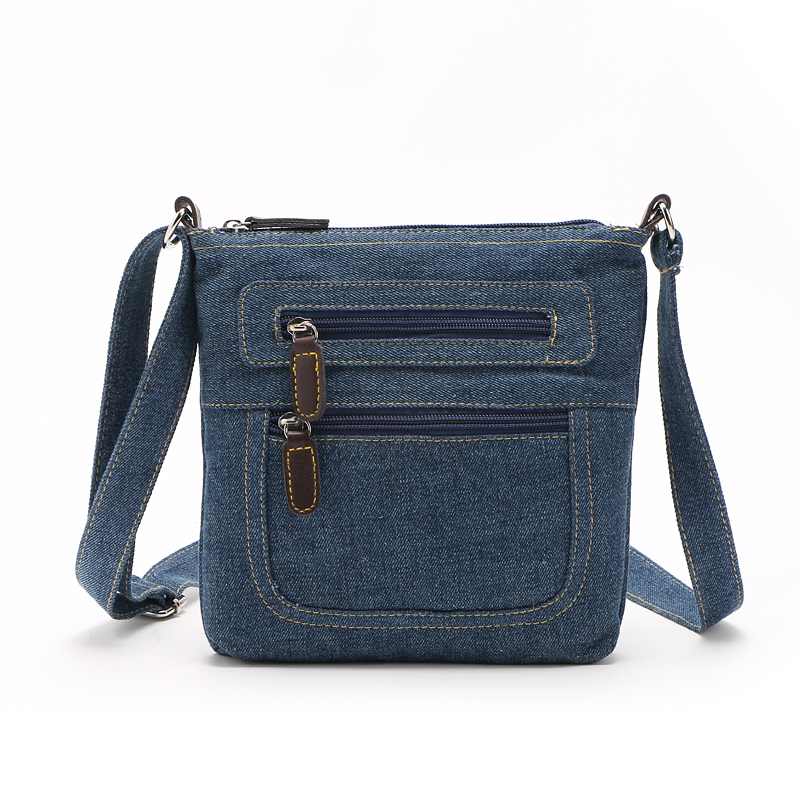 Fashion blue denim shoulder bags women handbag messenger bag cowboy bags ladies crossbody bag тайтсы dali dali da002ewucm67