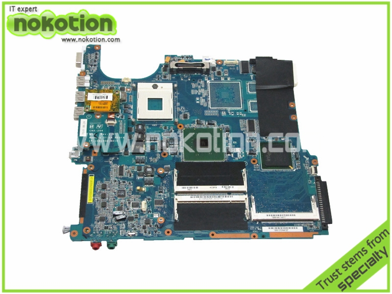 Laptop motherboard for Sony Vaio VGN-FS550 MBX-130 A1095426A 915GM Intel DDR2 Mother Board 100% Good Tested laptop bottom case for sony vgn fw355j vgn fw378j 013 000a 8129 a