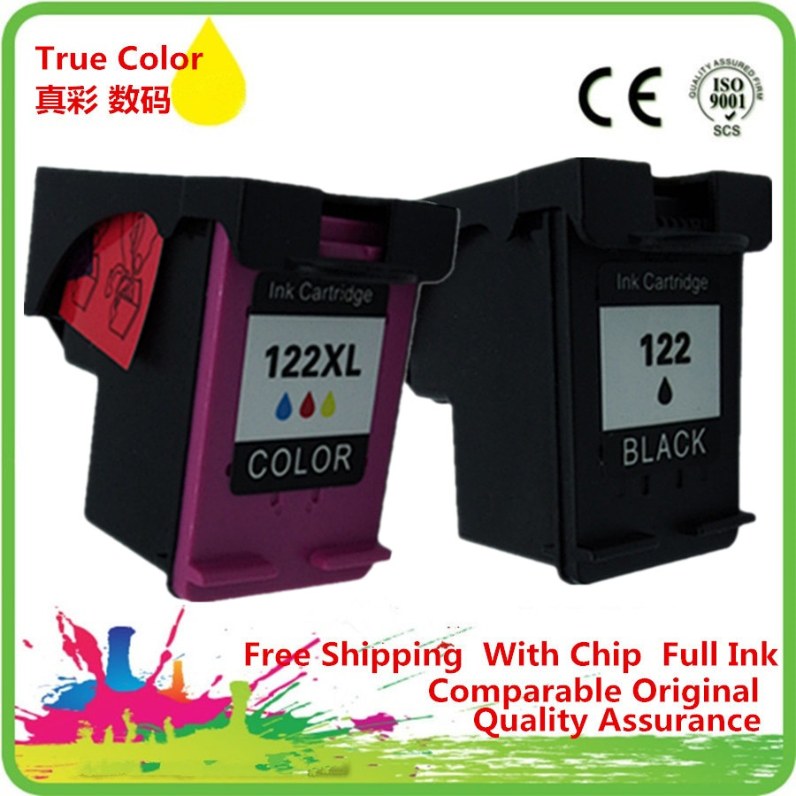 Ink Cartridges Remanufactured For 122 XL <font><b>HP122XL</b></font> 122XL Photosmart C4610 C4640 C4650 C4670 C4680 C4683 C4685 C4688 C4740 image