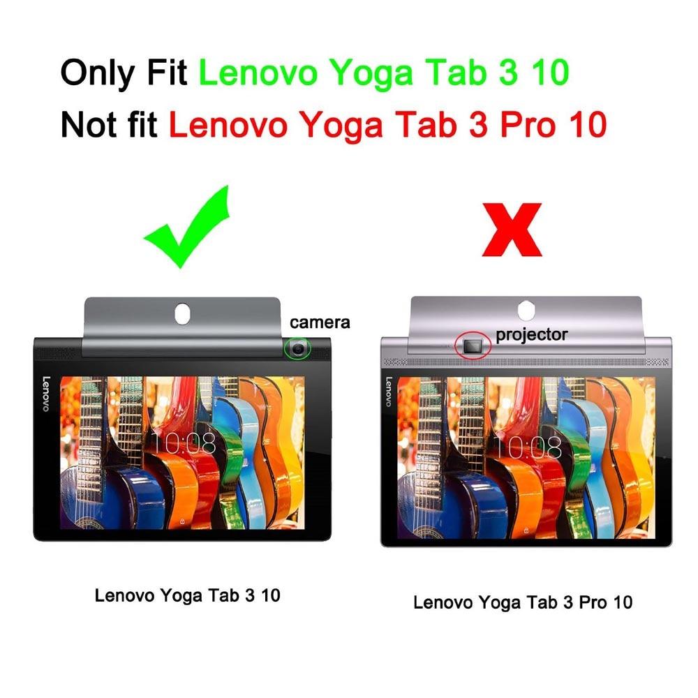 Lenovo YOGA Tab 3 люкс қақпағы Lenovo Yoga - Планшеттік керек-жарақтар - фото 2