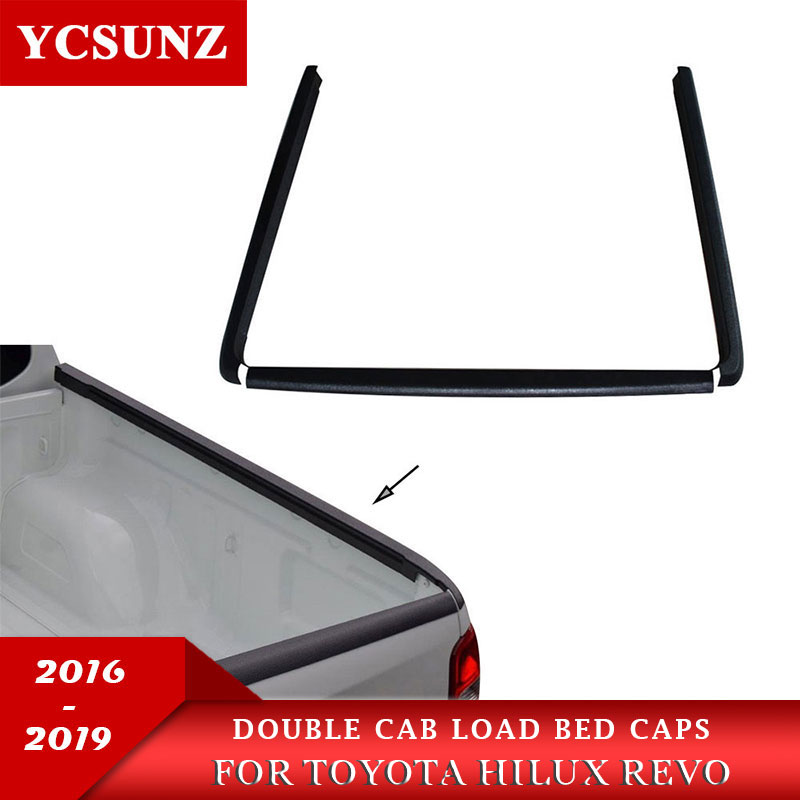Rail Guard ABS Over Rail Load Bed Liner For Toyota Hilux Revo Rocco 2015 2016 2017