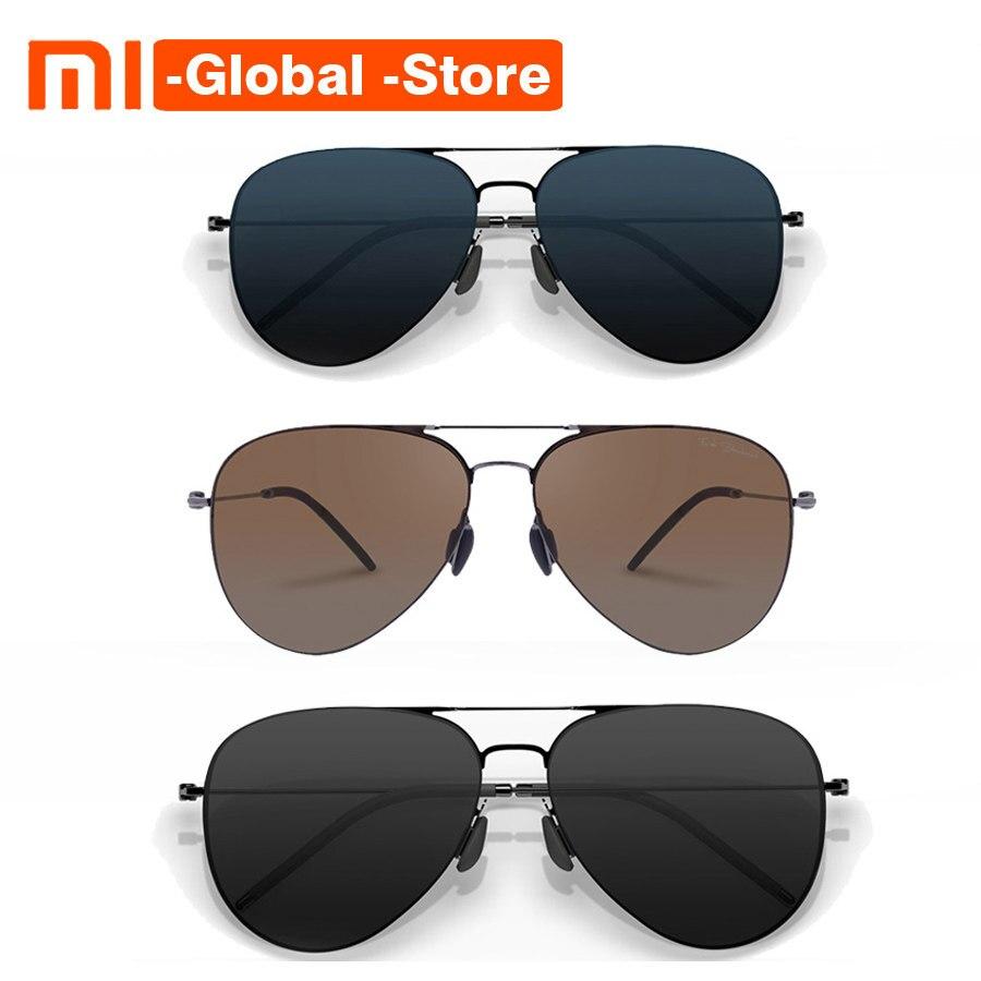 db9cf690dcb3f Original Xiaomi Mijia Steinhardt Turok TS Nylon Inoxidável Polarizada óculos  de Sol Homem Mulher RETRO Colorido