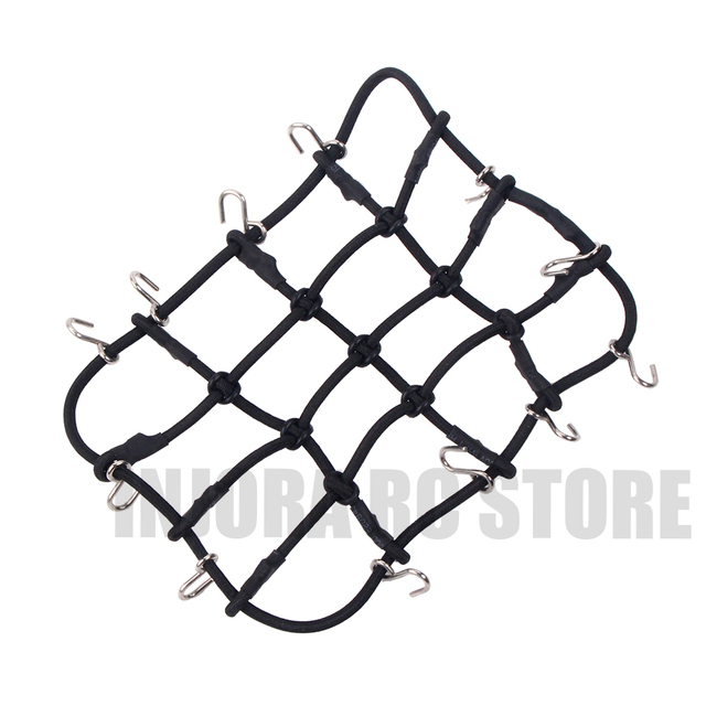 Rc Rock Car 6 Color Elastic Luggage Net For Rc Crawler Axial Scx10