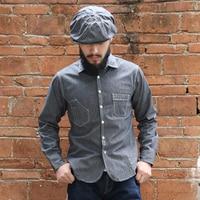 READ THE DESCRIPTION BRONSON Men's Casual Long Sleeve Shirt mans vintage cotton shirt