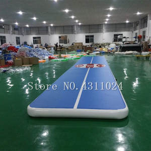 Tumble Track Air-Track-Gymnastics A-Pump Trampoline Inflatable Come with 10--2m