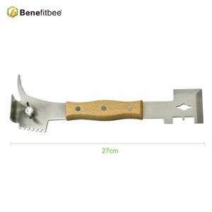 Image 3 - Benefitbee Bienenzucht Werkzeuge Bee Beehive Schaber Messer Für Imker Patent Multifunktions Bienenzucht Ausrüstung Imkerei