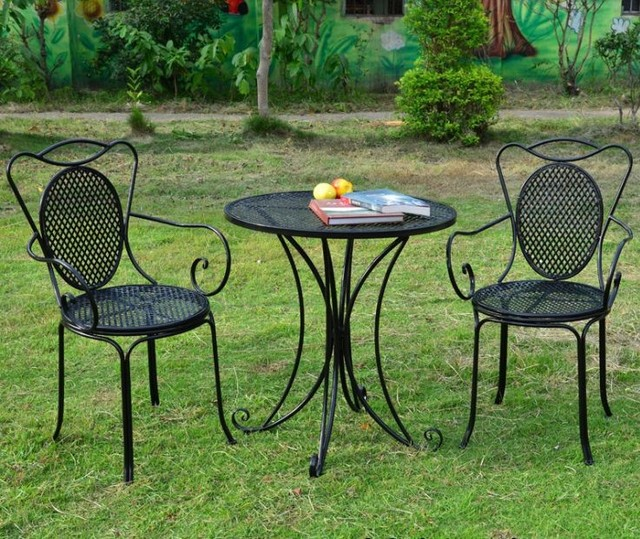 European style wrought iron tables and chairs outdoor leisure garden on round swimming pool designs, round tree house designs, round stained glass designs, round jewelry designs, round patio designs, round kitchen designs, round gate designs, round chimney designs, round picket fence designs, round ironwork designs, round art designs, round pottery designs,