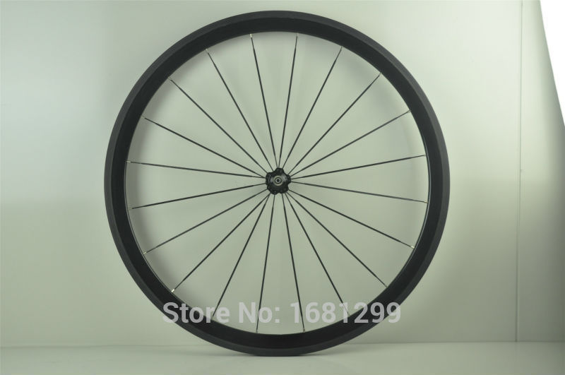 1pcs New 700C 38mm tubular rims Fixed gear Track Road bicycle 3K UD 12K full carbon bike wheelsets aero spokes skewers Free ship 1set front and rear 700c road bike wheel bicycle magnesium alloy three spokes parts integrated wheel fixed gear single speed