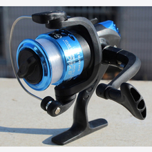 New 2017 High Quality 5.1:1 Electroplate Spinning Fishing Reel Carp Fishing Wheel Spinning Reel for Sea Fishing SY200