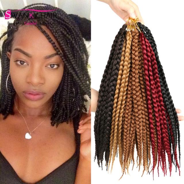 African Box Braids Hair Crochet Hair Extensions Expression Braiding