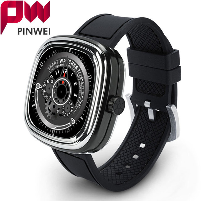 PINWEI PWM2 Bluetooth Smart Watch Heart Rate Monitor Водонепроницаемый Smartwatch С Сенсорным Экраном для iphone iOS Android Телефон Женщины Смотреть