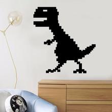 YOYOYU Wall Decal Vinyl Art Removeable Room Decoration Pixel Dinosaur Kids Idea Stickers for kids room YO347