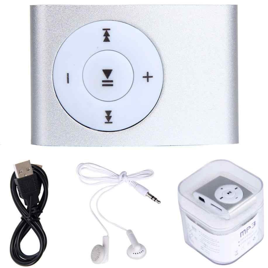 مشغل USB صغير MP3 يدعم 32 جيجابايت مايكرو SD TF بطاقة مع سماعة مايكرو TF بطاقة سماعة الوسائط شحن مجاني